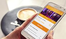 Gastrogate finns som app till din iPhone, Android och Windows Phone.